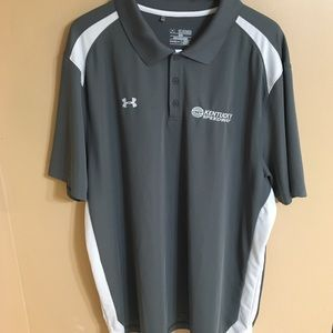 Under armour mens 3XL loose heat gear polo shirt